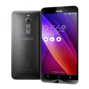 Asus Zenfone 2 Front & Back View