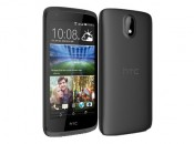HTC Desire 326G dual sim Front and Back View