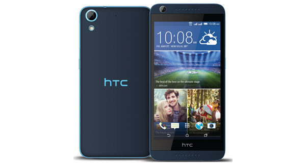 HTC Desire 626G Plus Front and Back View