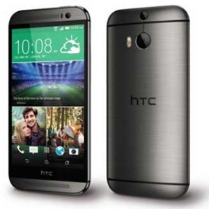 HTC M8S Front and Back View