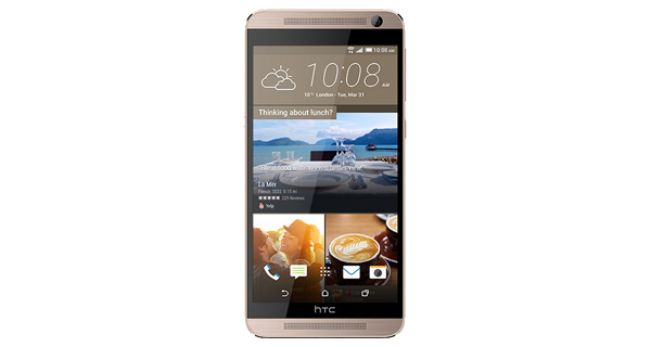 HTC One E9 Plus Front View