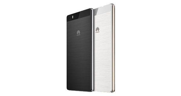 Huawei P8 Lite Back View