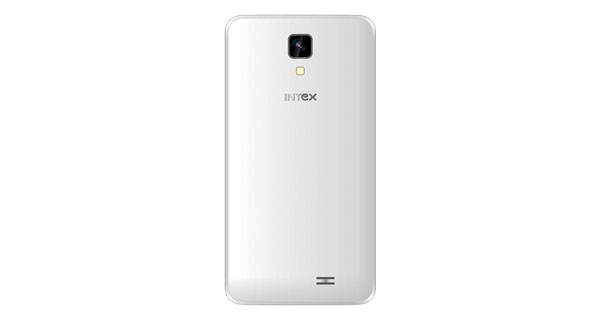 Intex Aqua Y2 1GB Back View