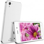 Lava Iris X1 Atom Front and Back View