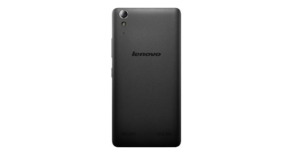 Lenovo A6000 Plus Back View