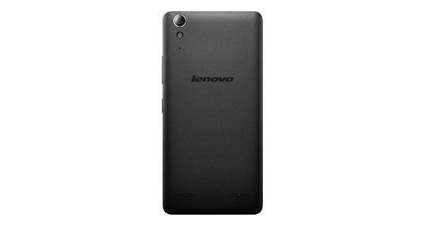 Lenovo A6000 Plus Back View