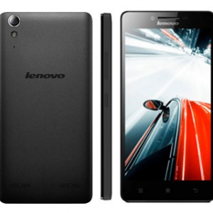 Lenovo A6000 Plus Front and Back View
