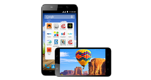 Micromax Canvas Play Q355 Front