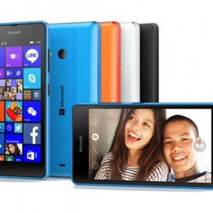 Microsoft Lumia 540 Front and Back View