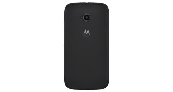 Motorola Moto E (2nd Gen) 4G Back View