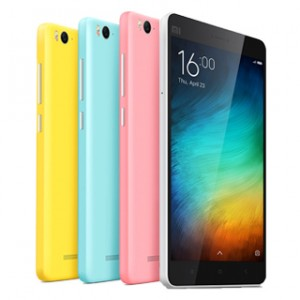 Xiaomi Mi 4i Front and Back View