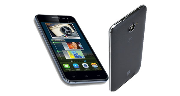 iBall Andi 5M Xotic Front and Back View