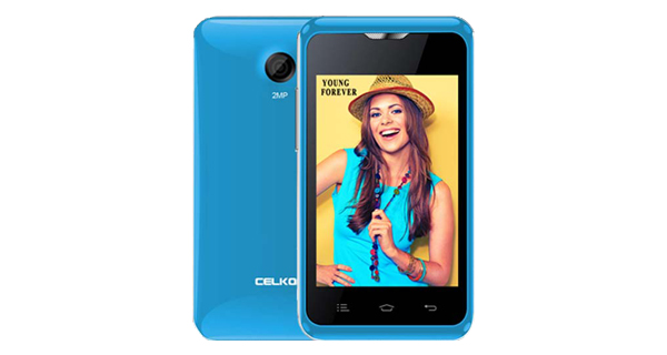 Celkon Campus A359 Front and Back View