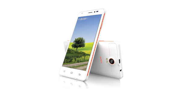 Intex Cloud M5 II Front and Back View
