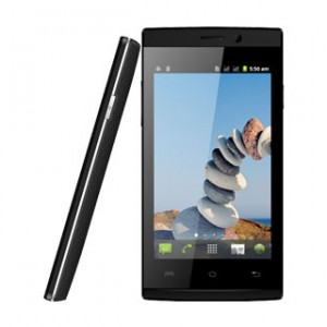 Lava Iris 100 Lite Front and Side View