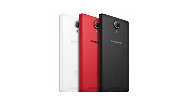 Lenovo P90 Back view