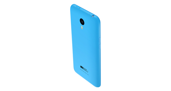 Meizu M1 Note Back view
