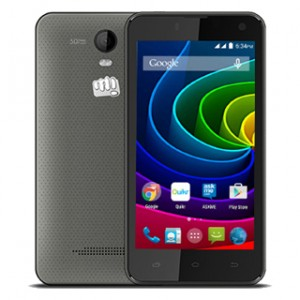 Micromax Bolt Q335 Front and Back View