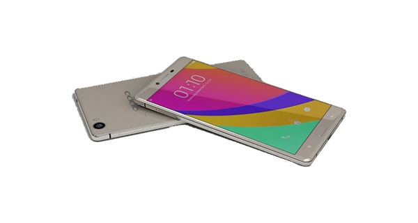 Oppo R7 Front and Back View