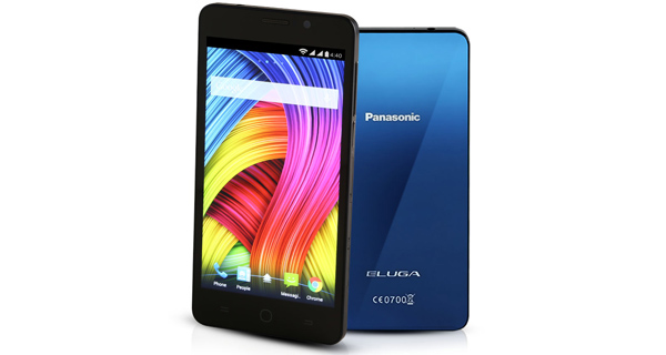 Panasonic Eluga L 4G Front and Back View