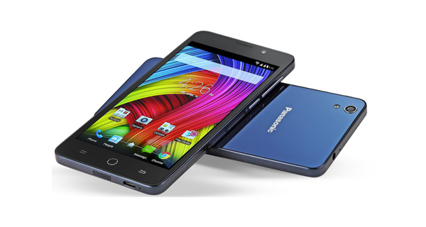 Panasonic Eluga L 4G Top View