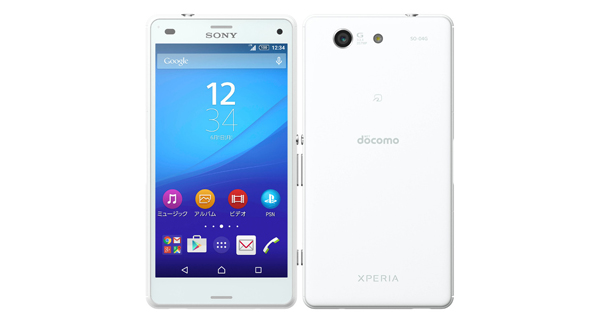 Sony Xperia A4 Back and Front White