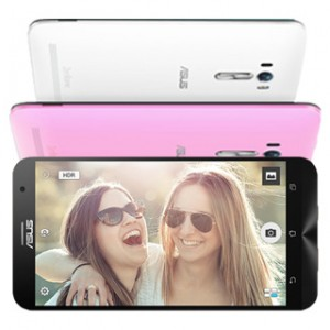 Asus Zenfone Selfie Front and Back View