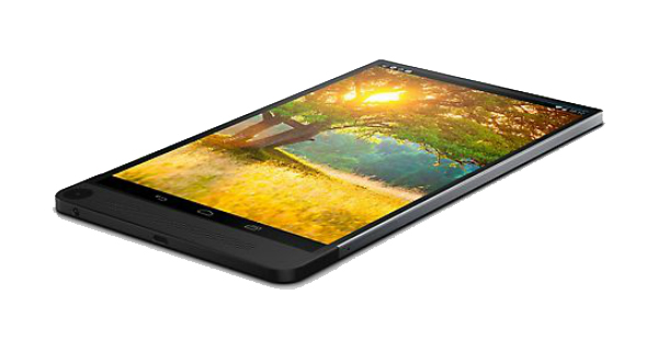 Dell Venue 8 7000 Top View