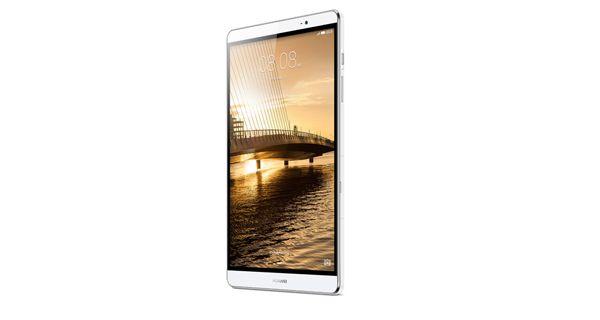 Huawei MediaPad M2 Front White