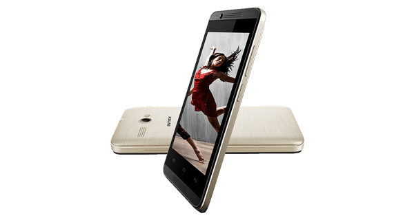 Intex Aqua 3G Pro Front and Back View