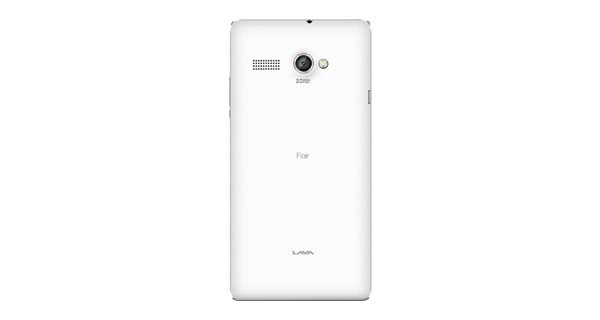 Lava Flair P1 Back View