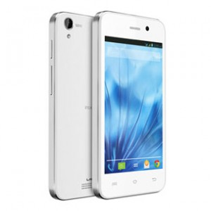 Lava Iris X1 Atom S Front and Back