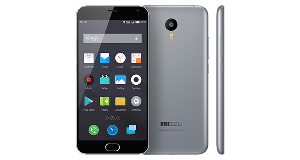 Meizu M2 Note Gray