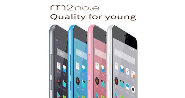 Meizu m2 note Front