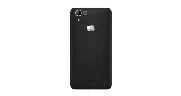 Micromax Canvas Selfie Lens Q345 Back View