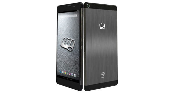 Micromax Canvas Tab P690 Front and Back View