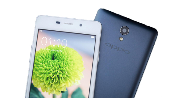 Oppo Joy 3 Front and Back View