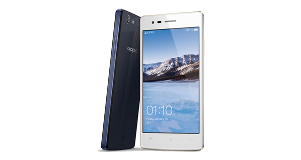 Oppo Neo 5s Front and Back View