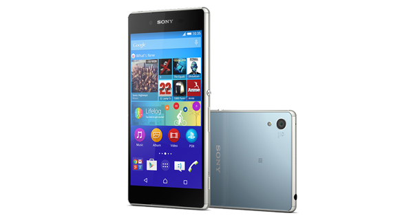 Sony Xperia Z3 Plus Front and Back View
