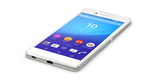 Sony Xperia Z3 Plus Top White Color
