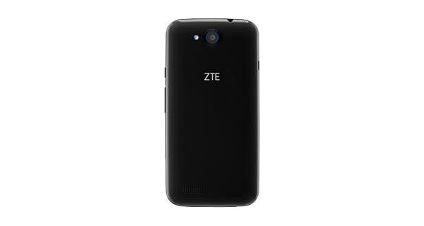 ZTE Blade Qlux 4G Back View