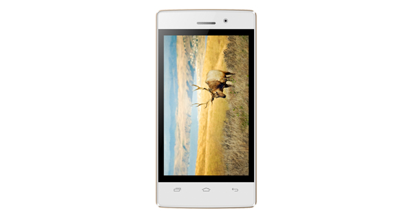 Intex Aqua Y2 Ultra Front View