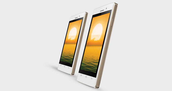 Intex Aqua Y2 Ultra Front and Side View