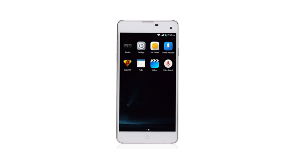 Elephone G7 Front View