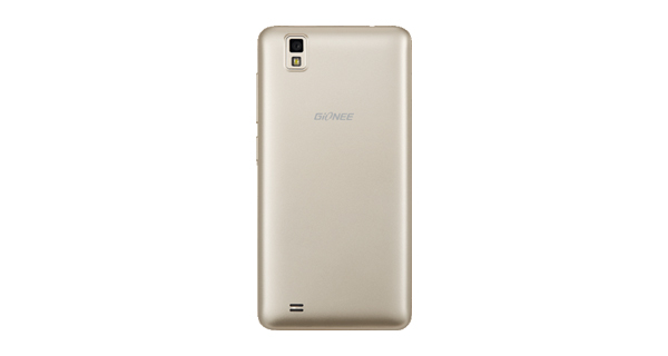 Gionee Pioneer P2M Back Golden