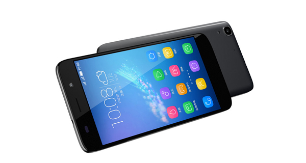 Huawei Honor 4A Front and Back View
