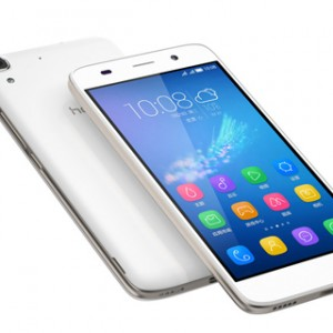 Huawei Honor 4A Front and Top View