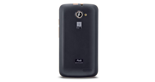 IBall Andi 3.5V Genius2 Back View