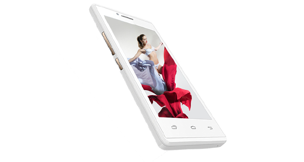 Intex Aqua Q5 Front View