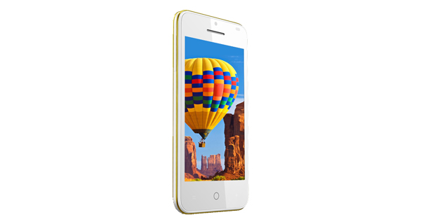 Intex Aqua Y2 Power Front View White